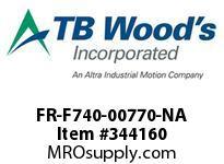 TBWOODS FR-F740-00770-NA INVERTER VT 50/60HP 480V
