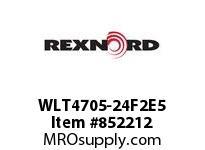 REXNORD WLT4705-24F2E5 WLT4705-24 F2 T5P WLT4705 24 INCH WIDE MATTOP CHAIN W