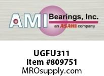 AMI UGFU311 55MM HEAVY ECCENTRIC COLL 4-BOLT FL BEARING
