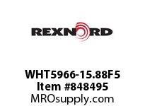 REXNORD WHT5966-15.88F5 WHT5966-15.875 F3 T5P WHT5966 15.875 INCH WIDE MATTOP CHA