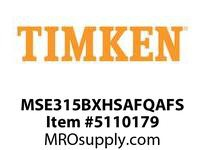TIMKEN MSE315BXHSAFQAFS Split CRB Housed Unit Assembly