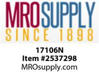 MRO 17106N 1/2 WHITE NYLON COMPRESSION TEE