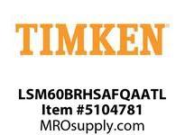 TIMKEN LSM60BRHSAFQAATL Split CRB Housed Unit Assembly