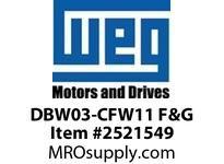 WEG DBW03-CFW11 F&G CFW11 EXT.DB MOD sz F&G (480V) VFD - CFW