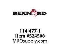 REXNORD 114-477-1 KU820-15T RGH BLANK 142700