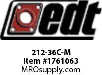 EDT 212-36C-M NCS BALL INSERT 450^GRAPHT SOLID LUBE