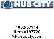 HUBCITY 1002-07914 FR250URWX1-15/16 DURALINE FLANGE BRACKET BEARING