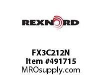 FX3C212N FLANG BLK FX3-C212N 172888