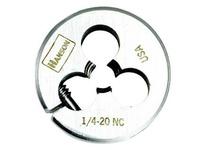 """IRWIN 3134 Die 3/8"""" - 16 NC HCS Solid Round 1"""