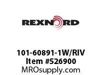 REXNORD 101-60891-1W/RIV NH78-AO RH LK W/RIVET INC 7288366