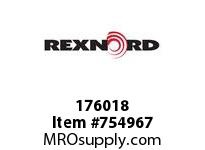REXNORD 176018 730501064302 50 HCB 2.0000 BORE NSKWY