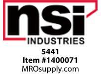 NSI 5441 4 CONTACTORS 40AMP 120V COIL DPST 120-480V