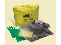 MBT OSSK-PP Oil-only spill kits are placed in areas where hydrocarbon-based fluids are stored or used. Choose from various size containers and contents depending on your particular applications. :