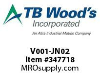 TBWOODS V001-JN02 THERMOSWITCH (210 DEGREE F)