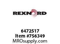 REXNORD 6472517 48-GB5212-01 IDL*20 P/A STL EQ R/G B+
