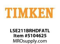 TIMKEN LSE211BRHDFATL Split CRB Housed Unit Assembly