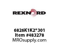 REXNORD 6179868 6826K1K2*301 ST K1&K2 EV3 P/P AYA