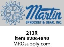 Martin Sprocket 213R RAILPLASTICRED13""
