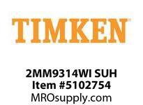 TIMKEN 2MM9314WI SUH Ball P4S Super Precision