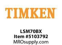 TIMKEN LSM70BX Split CRB Housed Unit Component