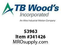 TBWOODS 53963 L099X15T SPLN L-JAW HUB