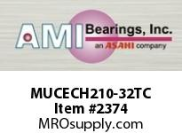AMI MUCECH210-32TC 2 STAINLESS SET SCREW TEFLON HANGER TEFLON COAT HOUSING