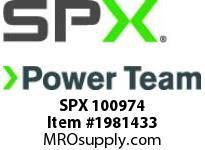 SPX 100974 SUB-PLATE-CHECK VALVE