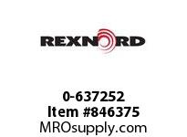 REXNORD 0-637252 SPINDLE 6B 3/4-10 X7.17SS