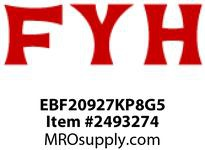 FYH EBF20927KP8G5 1 11/16 ND SS 4 BOLT RE-LUBE