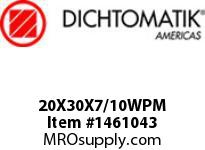 Dichtomatik 20X30X7/10WPM WIPER