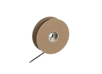 NSI TWHS-125-25W .125/062 THIN WALL SHRINK 25FT SPOOL WHITE