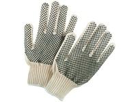 MCR 9668XL Regular Weight Cotton/Polyester PVC Dot 2-Sides Natural Hemmed