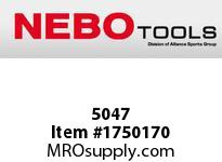 NEBO 5047 CSI LED Flashlight w/Laser and Magn