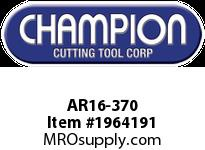 Champion AR16-370 CARB TIP STR TURN TOOL