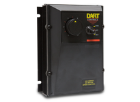 Dart 253G-200E-7 1/8 thru 2.0HP NEMA 4/12 dual voltage control with 4-20mA isolated signal follower with auto manual fun