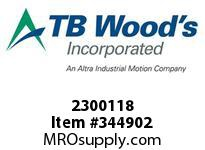 TBWOODS 2300118 2300-1 1/8 COLLET