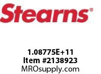 STEARNS 108775203043 BRK-VERT.ABOVESPCL SHFT 191992