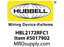 HBL_WDK HBL2172RFC1 RF CTRL HGR SPLT CIRC 15A 5-15R BR