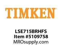TIMKEN LSE715BRHFS Split CRB Housed Unit Assembly