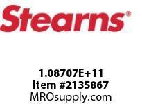 STEARNS 108706500003 BRK-RL TACH MACHW/O HUB 8017329