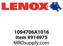 Lenox 1094706A1016 BI-METAL UTILITY BITS-06A1016 6 X 5/8 UTILITY BIT-06A1016 152 X 16MM UTILITY BIT- BITS-06A1016 6 X 5/8 UTILITY BIT-06A1016 152 X 16MM UTILITY BIT-