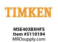 TIMKEN MSE403BXHFS Split CRB Housed Unit Assembly