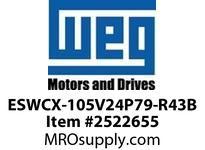 WEG ESWCX-105V24P79-R43B XP FVNR 60HP/460 N79 230V Panels