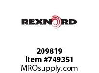 REXNORD 209819 589937 350.S71-8.CMBR C=12.00