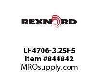 REXNORD LF4706-3.25F5 LF4706-3.25 F1 T5P