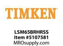 TIMKEN LSM65BRHRSS Split CRB Housed Unit Assembly