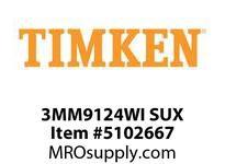 TIMKEN 3MM9124WI SUX Ball P4S Super Precision