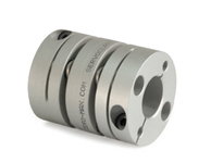 Zero Max SD025R SIZE 25 SINGLE FLEX SERVO COUPLING WITH STAINLESS STEEL FLEX ELEMENTS