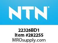 NTN 22326BD1 LARGE SIZE SPHERICAL BRG