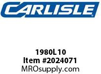 Carlisle 1980L10 Vee Rib L Carlisle